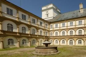 Zámek Račice - ubytování