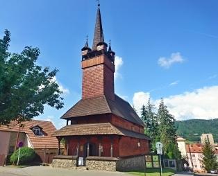 Blansko - dřevěný kostelík