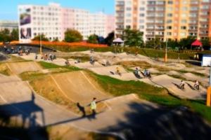 Pumptrack Praha 8 Bohnice