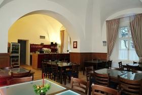 Zámek Křtiny - restaurace